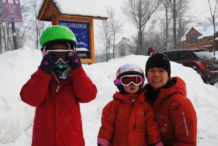 Snow Weekend in Vermont