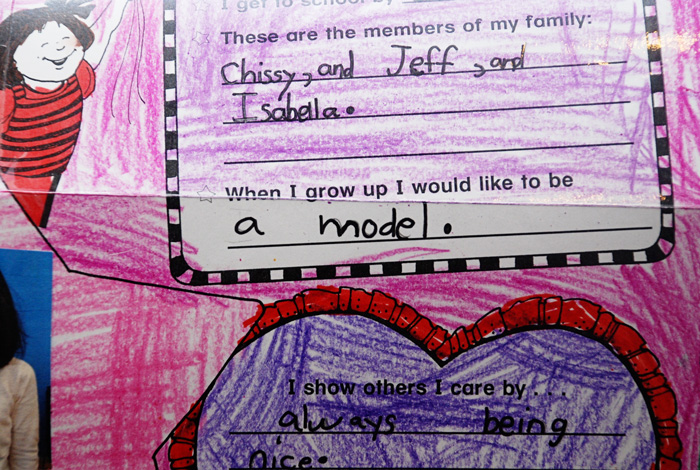 Chinese American Mom #101: Your daughter wants to be a model